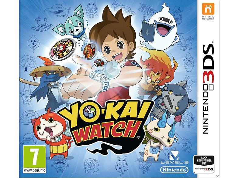 Yokai Watch Nintendo 3DS gaming games nintendo 2ds  3ds games gaming φορητές κονσόλες games 2ds  3ds