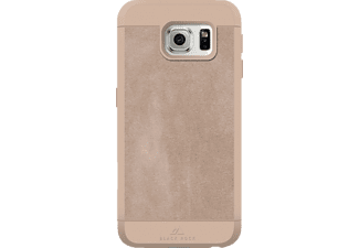 "BLACK ROCK ""Material Case Suede"", Samsung, Backcover, Galaxy S7, Kunststoff/Echtleder/Polycarbonat (PC)/Thermoplastisches Polyurethan (TPU), Nude"