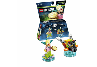 - LEGO Dimensions - Fun Pack (Simpsons Krusty) |