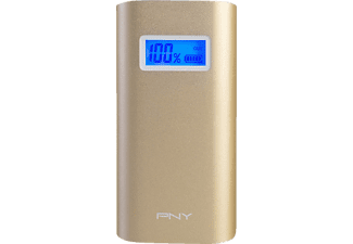 PNY Alu Digital 5200 GOLD Powerbank 5200 mAh Gold