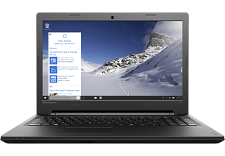 LENOVO IdeaPad 100, Notebook mit 15.6 Zoll Display, Core™ i3 Prozessor, 4 GB RAM, 256 GB SSD, Intel® HD-Grafik, Schwarz
