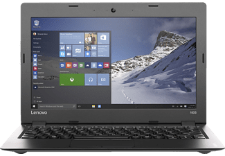LENOVO IdeaPad 100S (inklusive Office 365 Personal), Notebook mit 11.6 Zoll Display, Atom™ Prozessor, 2 GB RAM, 64 GB eMMC, Intel® HD Grafik