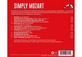VARIOUS - Simply Mozart [CD]