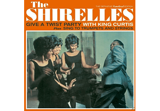 The Shirelles - Give A Twist Party With King Curtis+Sing To Trum - (CD)