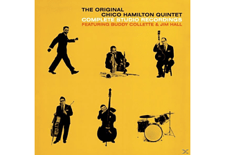The Chico Hamilton Quintet - Complete Studio Recordings+5 Bonus Tracks - (CD)