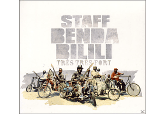 Staff Benda Bilili - Tres, Tres Fort - (CD EXTRA/Enhanced)
