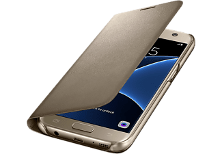 SAMSUNG LED View Cover GALAXY S7 EDGE Guld