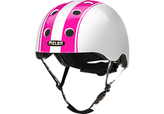 MELON Urban Active DOUBLE PINK WHITE GLOSSY M-L