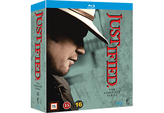 Justified - Hela Serien Drama Blu-ray