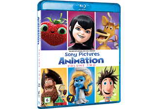 Sony Pictures Animation Vol 2 Animation / Tecknat Blu-ray
