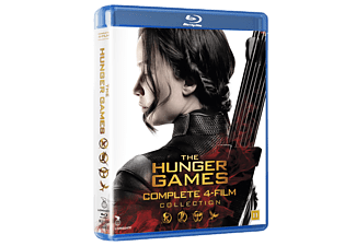 The Hunger Games - Alla 4 Filmerna Äventyr Blu-ray