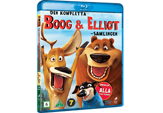 Boog & Elliot 1-4 Animation / Tecknat Blu-ray