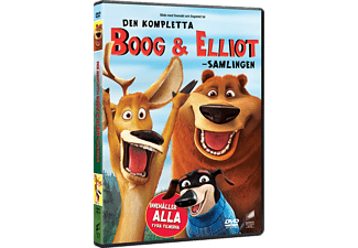 Boog & Elliot 1-4 Animation / Tecknat DVD
