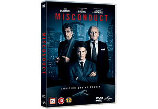 Misconduct Thriller DVD