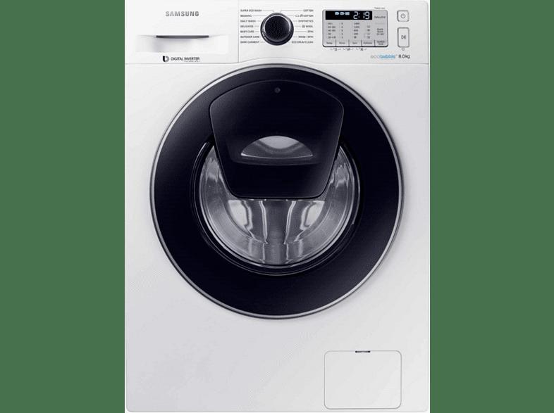 SAMSUNG WW80K5410UW/LV οικιακές συσκευές πλυντήρια ρούχων πλυντήρια εμπρόσθιας φόρτωσης οικιακές συσκευ