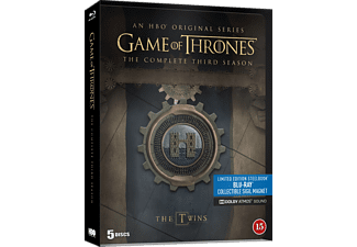 Game of Thrones S3 - Steelbook Äventyr Blu-ray