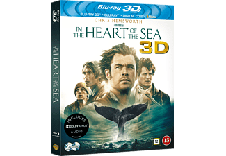 In The Heart Of The Sea Äventyr 3D BD & 2D BD, Blu-Ray