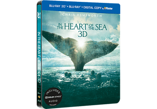 In The Heart Of The Sea - Steelbook Äventyr 3D BD & 2D BD, Blu-Ray