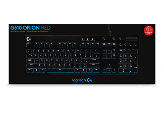 LOGITECH G610, Orion Red Gaming-Tastatur
