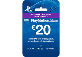 PlayStation Live Cards Hang 20€