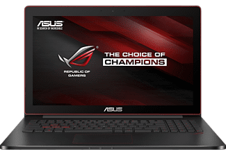ASUS G501VW-FY124T, Notebook mit 15.6 Zoll Display, Core™ i7 Prozessor, 8 GB RAM, 512 GB SSD, NVIDIA® GeForce® GTX 960M, Schwarz