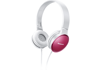 PANASONIC RP-HF300M, On-ear Kopfhörer, Pink