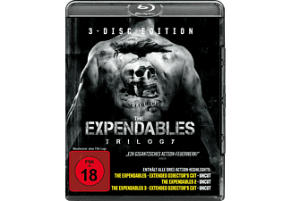 The Expendables Trilogy - (Blu-ray)