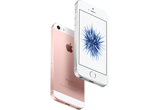 APPLE iPhone SE, Smartphone, 128 GB, 4 Zoll, Rose Gold, LTE