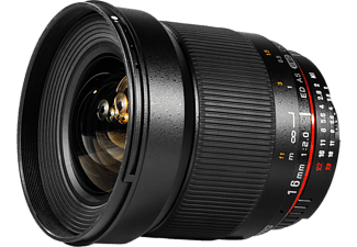 SAMYANG 16mm F/2,0 ED AS UMC CS (APS-C) - Canon EF