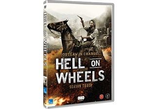 Hell on Wheels S3 Drama DVD