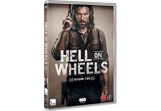 Hell on Wheels S2 Drama DVD