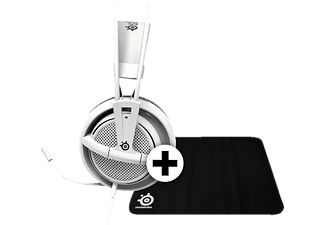 STEELSERIES SIBERIA 200 White - (DCA.P/C.06071) + Mousepad QCK