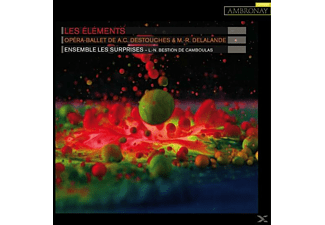 Louis Noel/les Surprises Bestion De Camboulas - Les Elements - (CD)