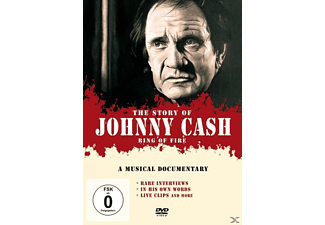 Johnny Cash - Ring Of Fire/The Music Story [DVD]