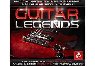 VARIOUS - Guitar Legends [CD]
