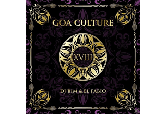 Dj Bim, El Fabio, VARIOUS - Goa Culture Vol.18 [CD]