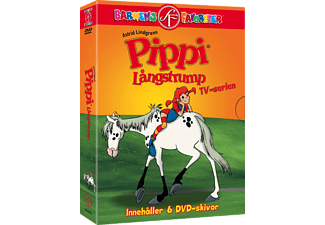 Pippi Långstrump TV-serien Box DVD