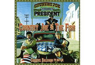 Country Joe & the Fish - Carousel Ballroom 14-02-68 - (CD)