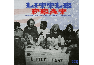 Little Feat - Orpheum Theater, Boston, Ma, Friday 31st Oct.1975 - (CD)