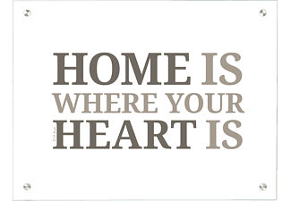 CONTENTO 866147 Home is where your heart is Magnetboard