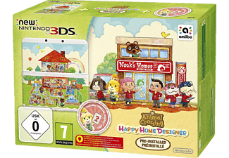 NINTENDO New 3DS +  Animal Crossing: Happy Home Designer Pack