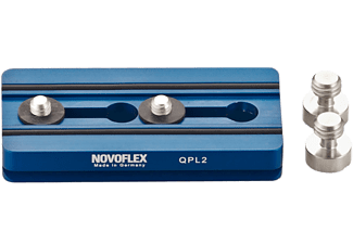 NOVOFLEX QPL-2 PLATE 84MM 1/4 AND 3/8