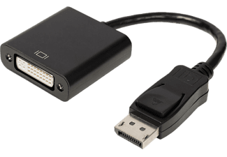 VALUELINE Displayport till DVI-D-adapter 0.2 m - Svart