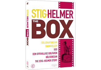 Stig-Helmer the Box Komedi DVD