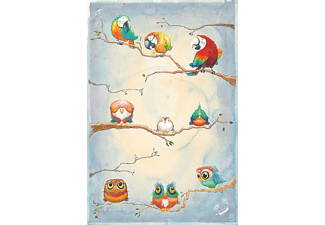 Birds Of Feather Poster Aquarell