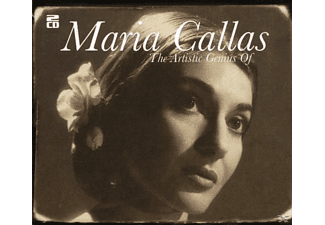 Maria Callas - The Artistic Genius Of Maria Callas [CD]
