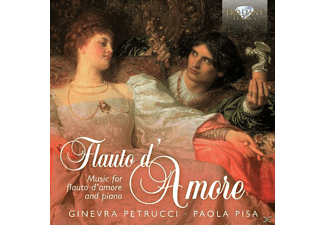 Ginevra Petrucci, Paola Pisa - Flauto D'amore-Music For Flute - (CD)