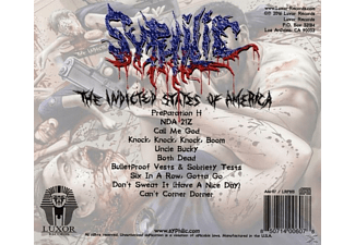 Syphilic - The Indicted States Of America - (CD)