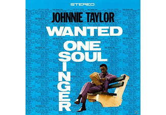 Johnnie Taylor - Wanted One Soul Singer - (Vinyl)