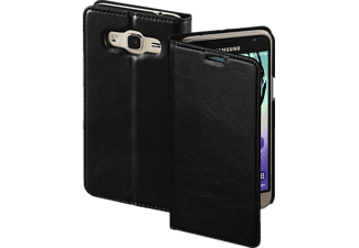 HAMA Single, Samsung, Bookcover, Galaxy J3 (2016), Kunstleder, Schwarz